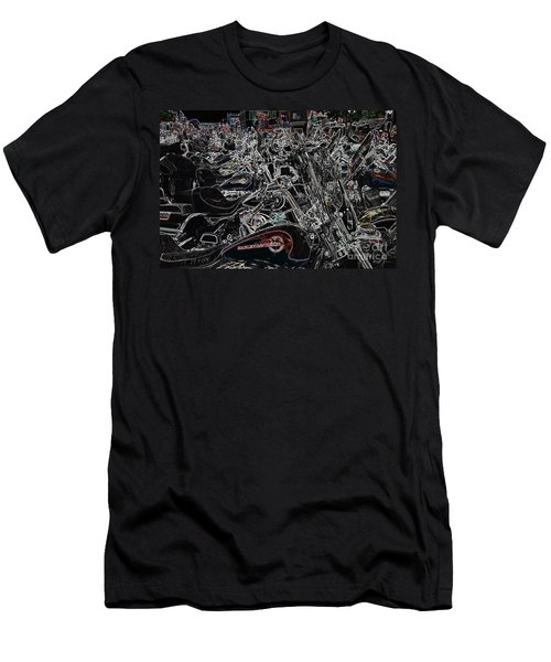 Harley Davidson Style Men's T-Shirt (Athletic Fit)