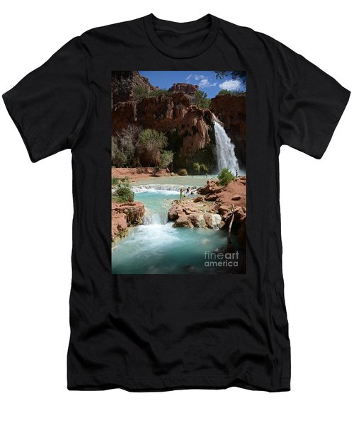 Havasu Falls Men's T-Shirt (Athletic Fit)