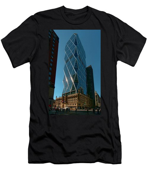Hearst Building Men's T-Shirt (Athletic Fit)