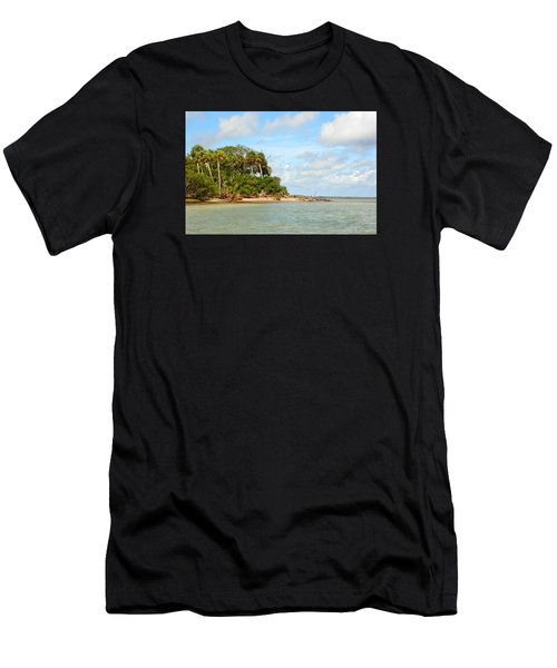 Heavenly Island View  Men's T-Shirt (Athletic Fit)