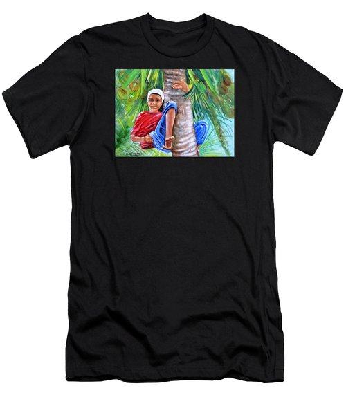 Hey Coconut Mon Men's T-Shirt (Athletic Fit)
