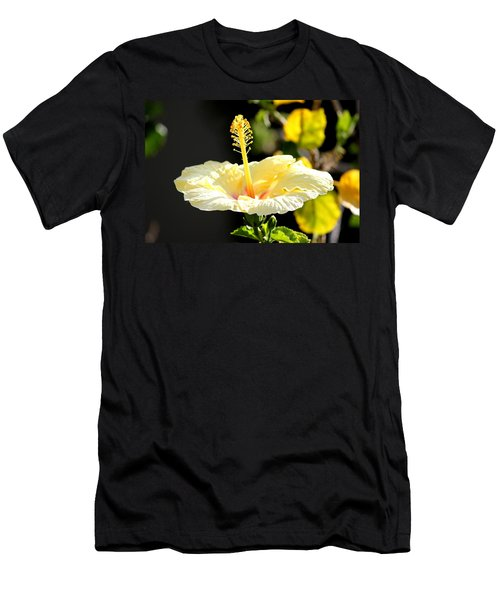 Hibiscus Rising Men's T-Shirt (Athletic Fit)