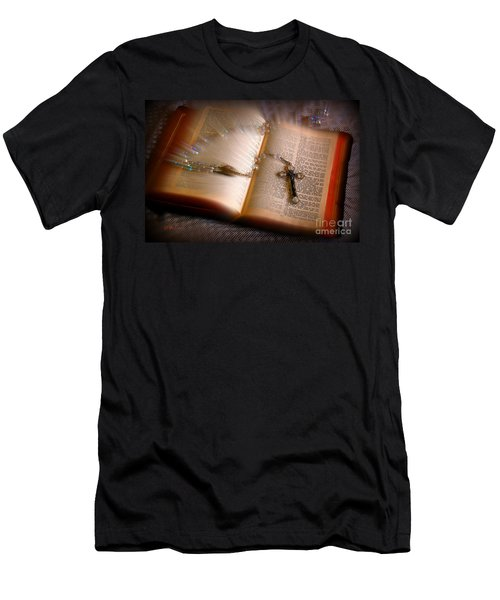 Men's T-Shirt (Athletic Fit) featuring the photograph Higher Power by Donna Bentley