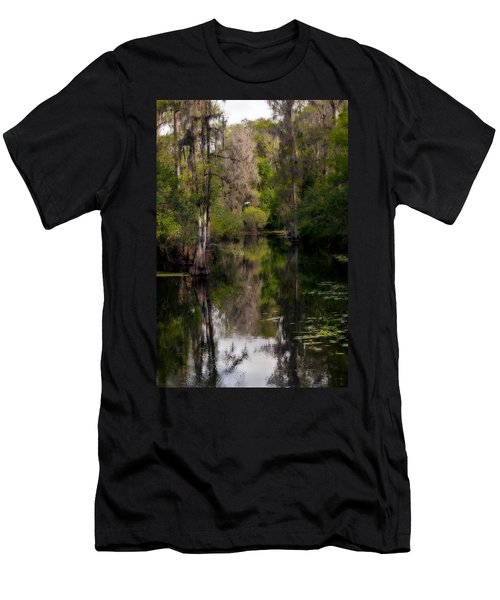 Hillsborough River In March Men's T-Shirt (Athletic Fit)