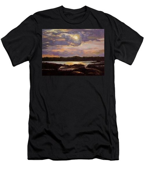 Hilton Head Sunset Men's T-Shirt (Athletic Fit)