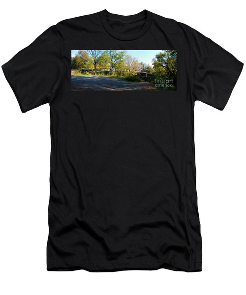 Historic Camelback Bridge Men's T-Shirt (Athletic Fit)