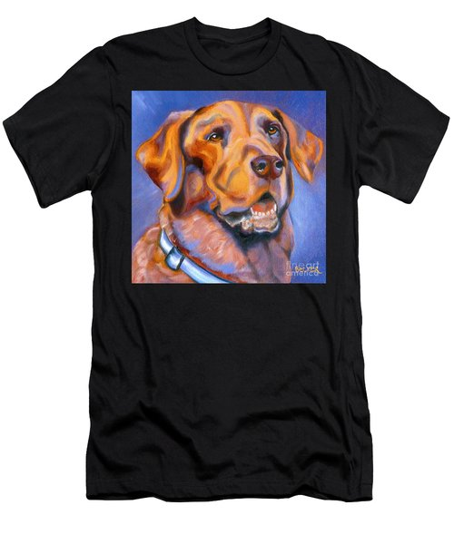 Hot Chocolate Lab Men's T-Shirt (Athletic Fit)
