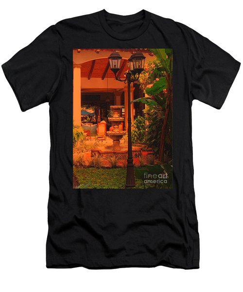 Men's T-Shirt (Slim Fit) featuring the photograph Hotel Alhambra by Lydia Holly