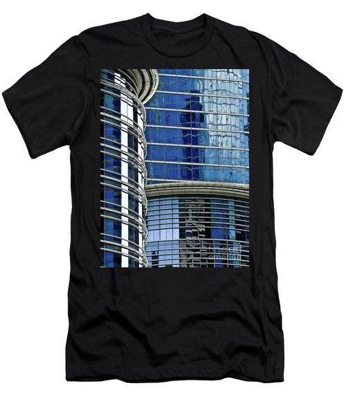 Houston Architecture 1 Men's T-Shirt (Athletic Fit)