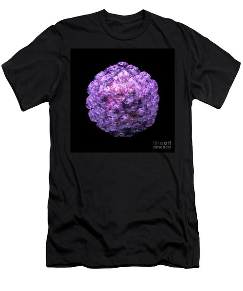 Men's T-Shirt (Slim Fit) featuring the digital art Human Papilloma Virus  10 by Russell Kightley