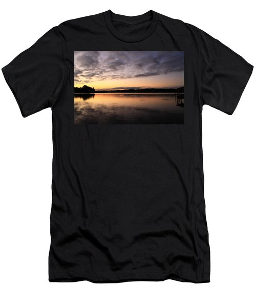 Hungry Fish At Sunrise Men's T-Shirt (Athletic Fit)