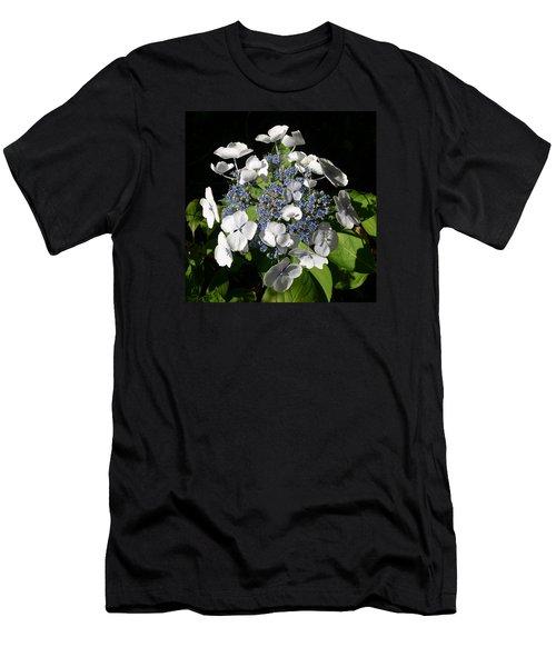 Men's T-Shirt (Slim Fit) featuring the digital art Hydranga by Claude McCoy