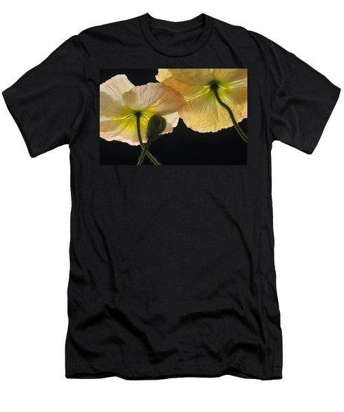 Men's T-Shirt (Slim Fit) featuring the photograph Iceland Poppies 2 by Susan Rovira
