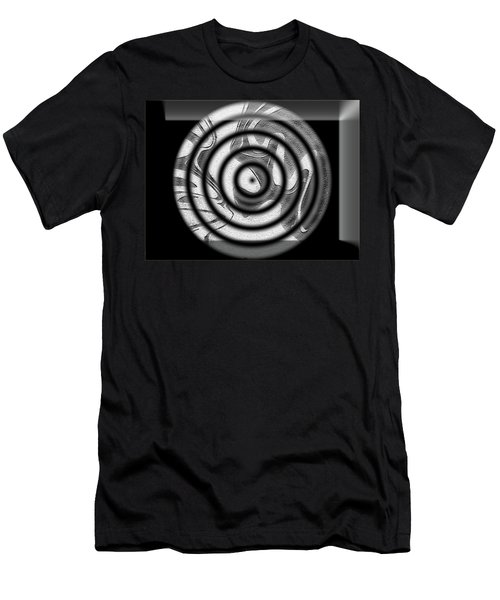 Men's T-Shirt (Athletic Fit) featuring the digital art Illusion by Mihaela Stancu