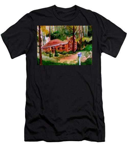 In A Cottage In The Woods Men's T-Shirt (Athletic Fit)