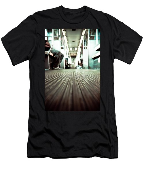 Inside The L At A Low Angle Men's T-Shirt (Athletic Fit)