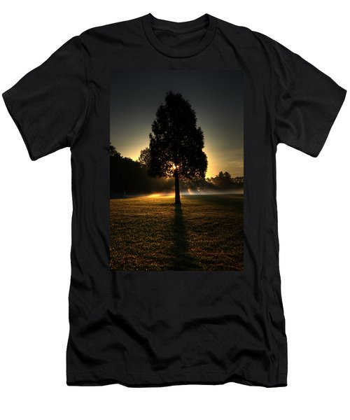 Inspirational Tree Men's T-Shirt (Athletic Fit)