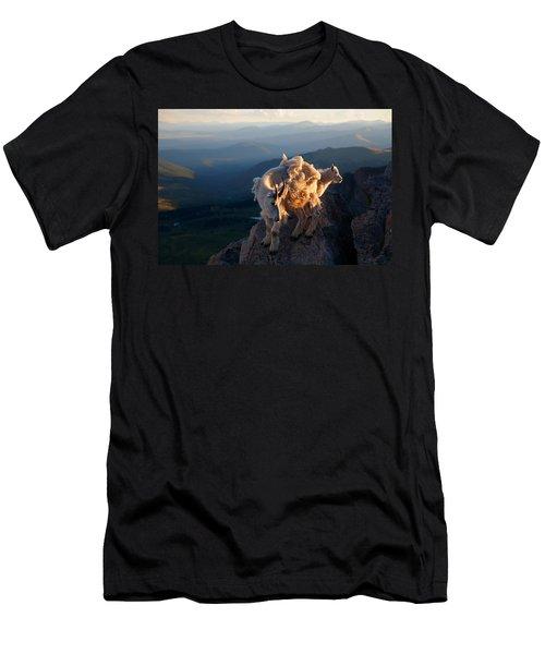 Two Faces West Men's T-Shirt (Athletic Fit)