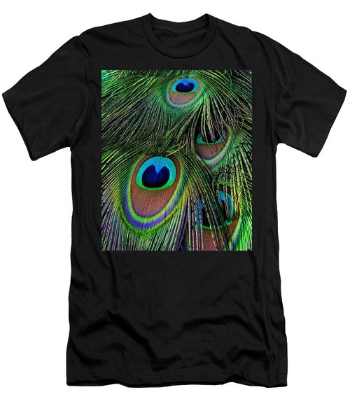 Iridescent Eyes Men's T-Shirt (Athletic Fit)
