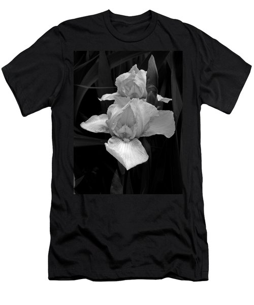 Men's T-Shirt (Slim Fit) featuring the photograph Iris by David Pantuso
