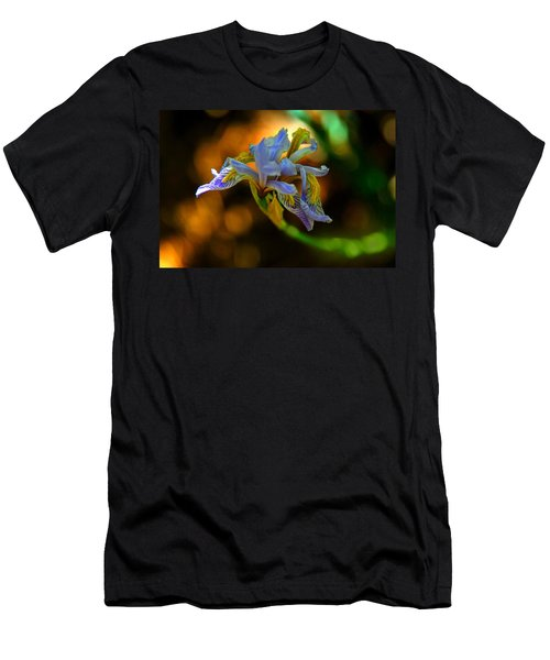 Men's T-Shirt (Slim Fit) featuring the photograph Iris by Tam Ryan