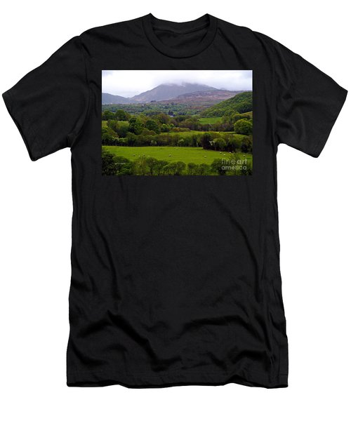 Irish Countryside II Men's T-Shirt (Athletic Fit)