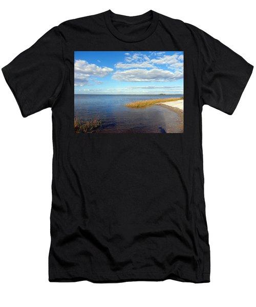 Island Skies Men's T-Shirt (Athletic Fit)