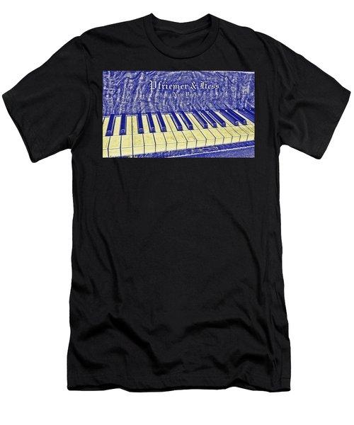 Ivory Blues Men's T-Shirt (Athletic Fit)