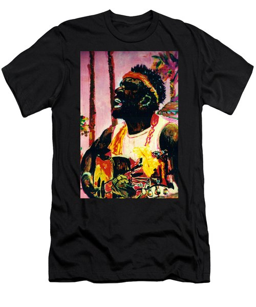 Jazz Musician Men's T-Shirt (Athletic Fit)