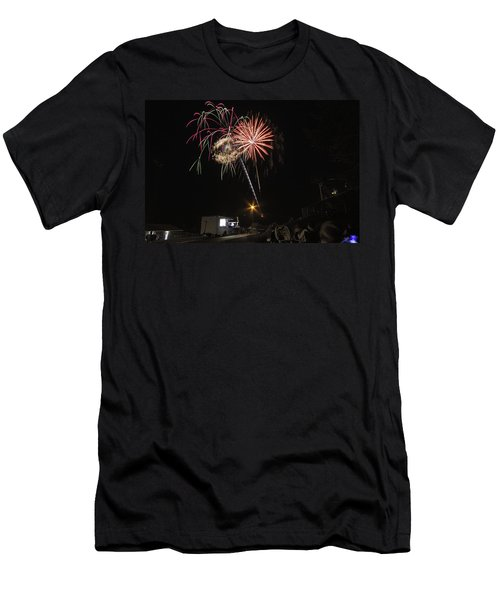 Men's T-Shirt (Slim Fit) featuring the photograph July 4th 2012 by Tom Gort