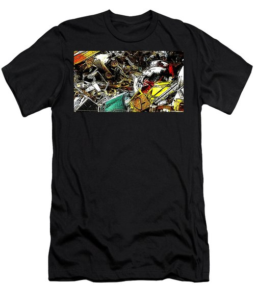 Men's T-Shirt (Slim Fit) featuring the photograph Junky Treasure by Lydia Holly