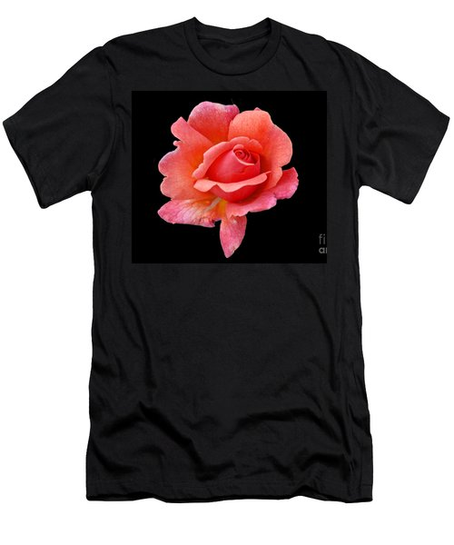 Men's T-Shirt (Slim Fit) featuring the photograph Just Peachy by Cindy Manero