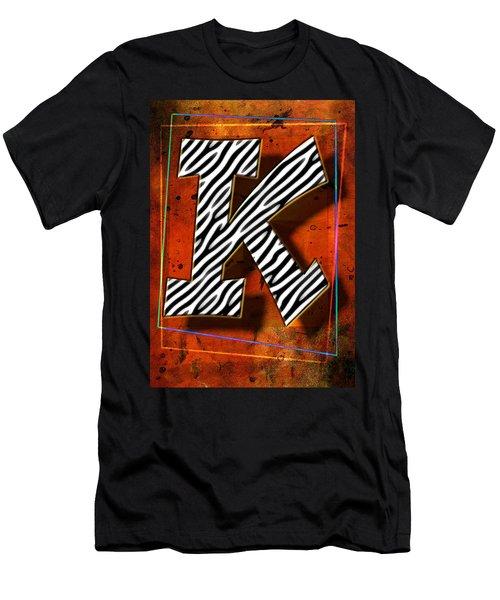 K Men's T-Shirt (Athletic Fit)