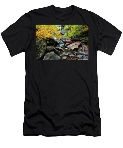 Kaaterskill Fall Men's T-Shirt (Athletic Fit)
