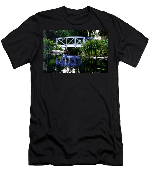 Men's T-Shirt (Athletic Fit) featuring the photograph Kalmar Reflection by KG Thienemann