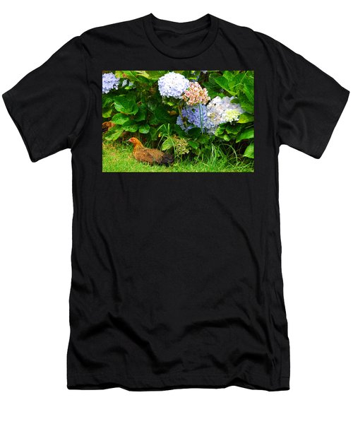 Kauai Wildlife Men's T-Shirt (Slim Fit) by Lynn Bauer
