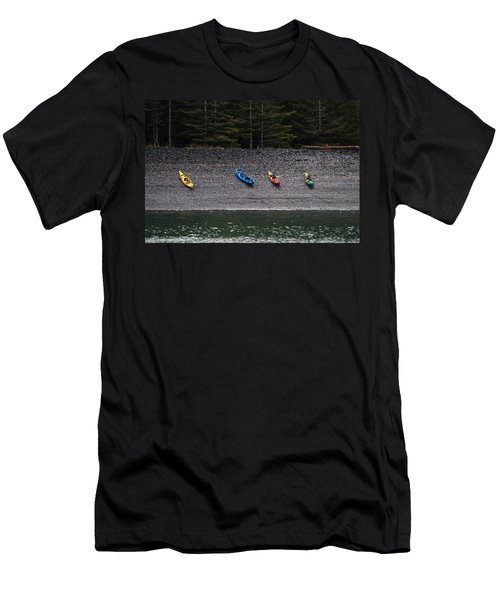 Kayak Shore Men's T-Shirt (Athletic Fit)