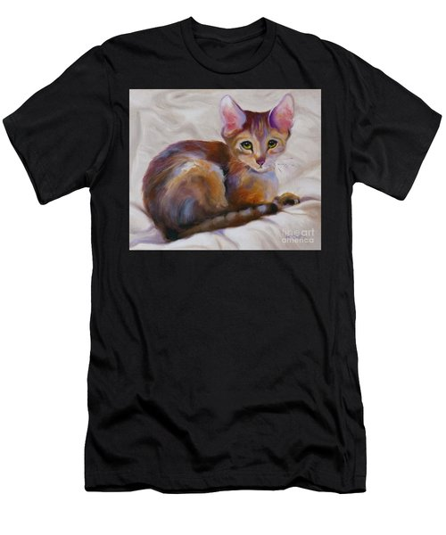 Kitten Princess Men's T-Shirt (Athletic Fit)