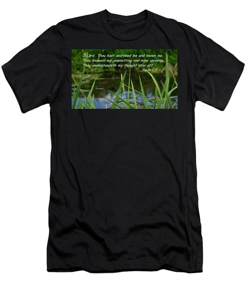 Known Through And Through Men's T-Shirt (Athletic Fit)