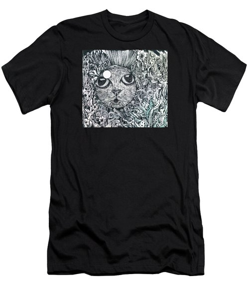Cat In A Fish Bowl Men's T-Shirt (Athletic Fit)
