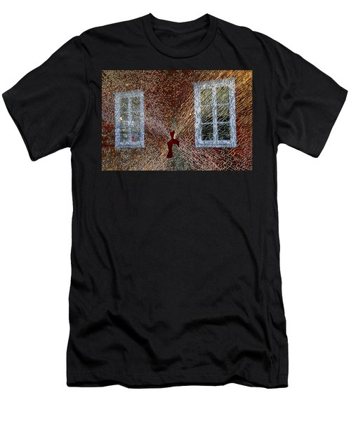 Men's T-Shirt (Athletic Fit) featuring the photograph Kosta Shattered by KG Thienemann