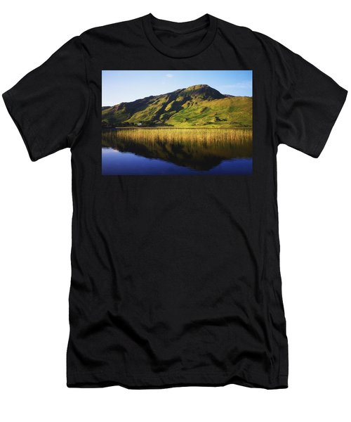 Kylemore Lake, Co Galway, Ireland Lake Men's T-Shirt (Athletic Fit)