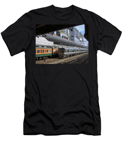 Kyoto Main Train Station - Japan Men's T-Shirt (Athletic Fit)