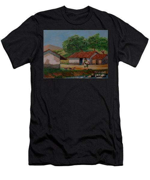 La Dama Del Rio Men's T-Shirt (Athletic Fit)