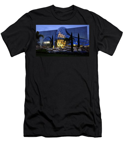Men's T-Shirt (Slim Fit) featuring the photograph Lady In The Window by David Lee Thompson