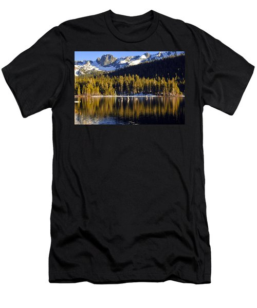 Lake Mary Reflections Men's T-Shirt (Slim Fit) by Lynn Bauer