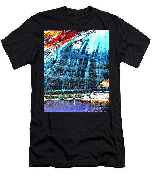 Lake Powell Reflection Men's T-Shirt (Slim Fit) by Rebecca Margraf