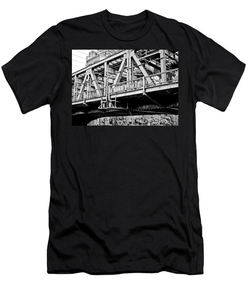 Lake Street Bridge Men's T-Shirt (Athletic Fit)