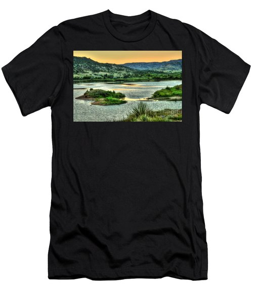 Lakeside View Men's T-Shirt (Athletic Fit)