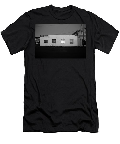Men's T-Shirt (Slim Fit) featuring the photograph Last Light On by Kathleen Grace